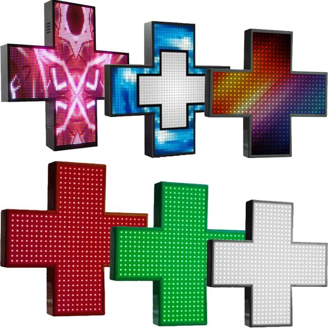 led кресты для аптеки